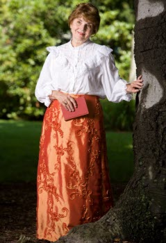 Ann Maggs as Helena Modjeska - photo by Samuel Masinter